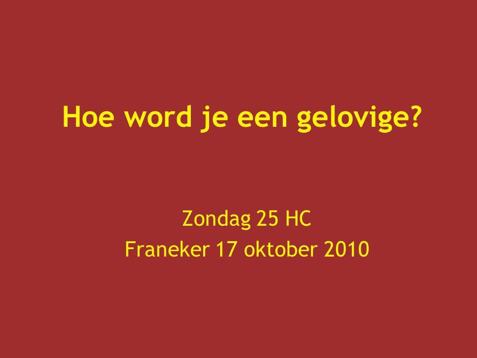 Zondag 25 HC Franeker 17 oktober 2010