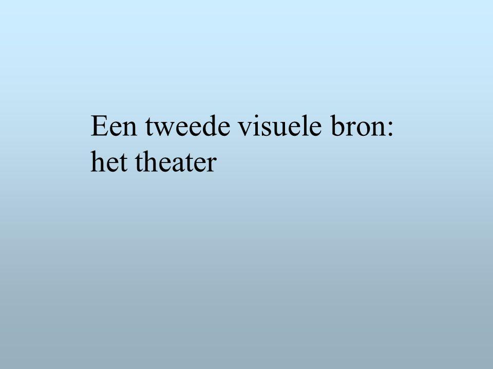 Een tweede visuele bron: het theater