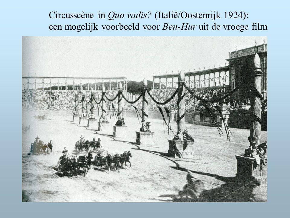 Circusscène in Quo vadis.