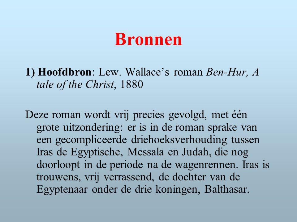 Bronnen 1) Hoofdbron: Lew.