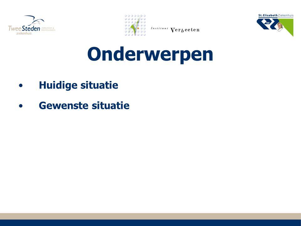 2016 -… Continueren van kwalitatief goede en hoogwaardige hematologische zorg in Midden- Brabant met bijzondere aandacht voor landelijke en regionale samenwerkingsverbanden.