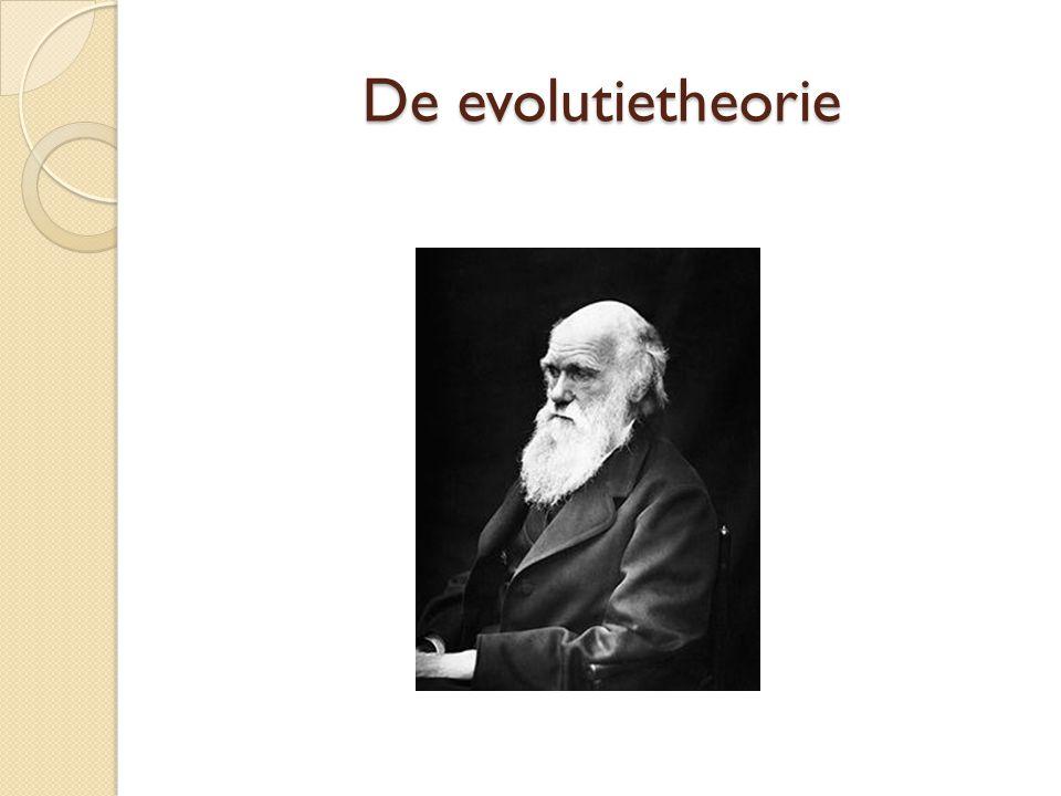 De evolutietheorie