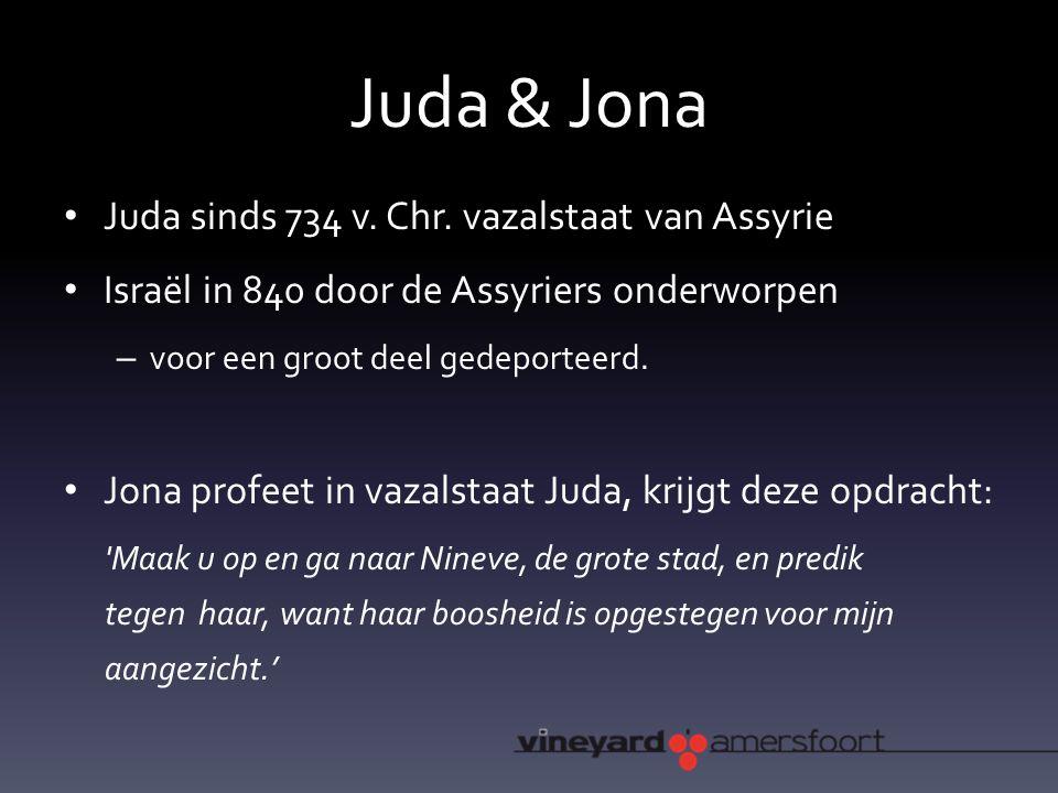Juda & Jona Juda sinds 734 v. Chr.