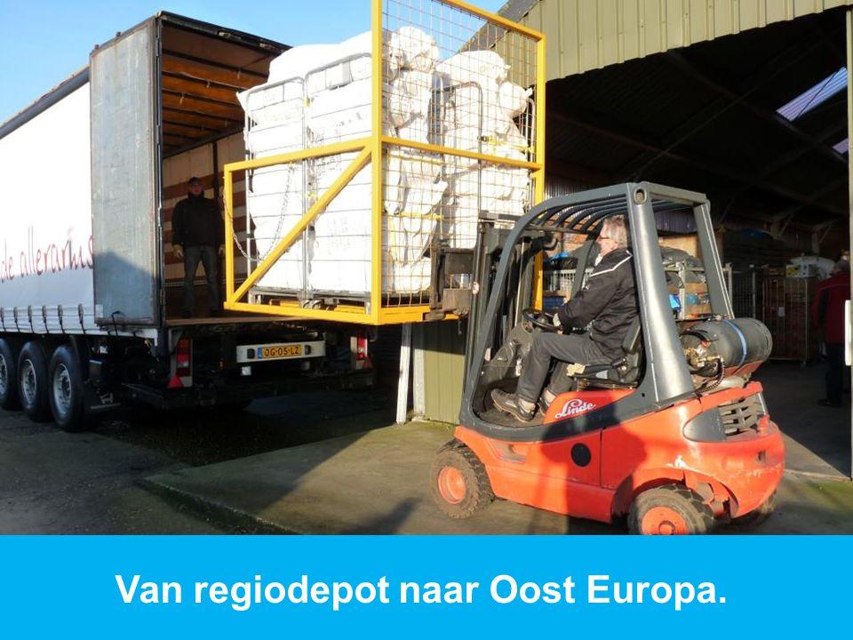 www.dorcas.nl Van regiodepot naar Oost Europa.