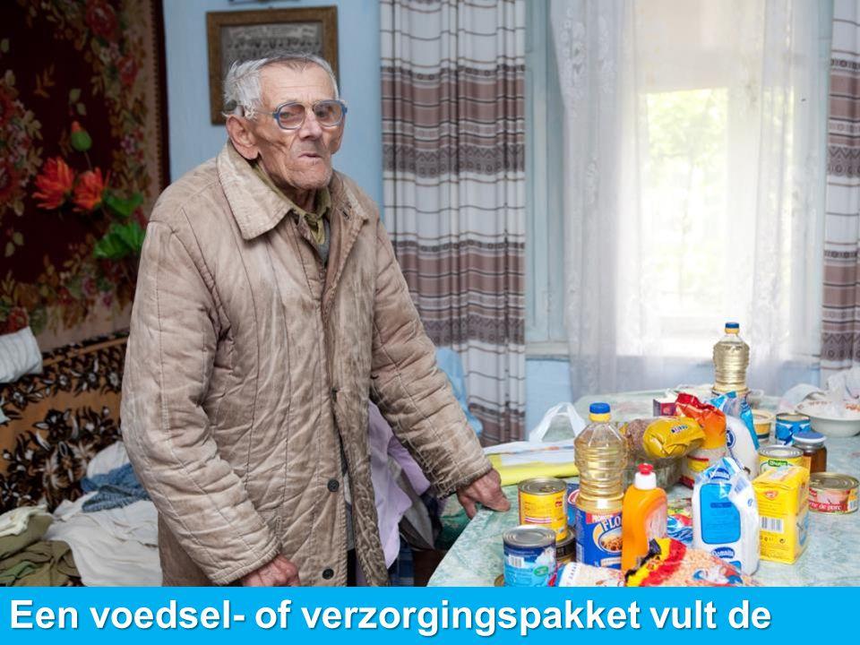 www.dorcas.nl Een voedsel- of verzorgingspakket vult de dagelijkse levensbehoeften aan.