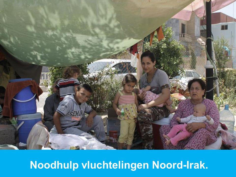 www.dorcas.nl Noodhulp vluchtelingen Noord-Irak.