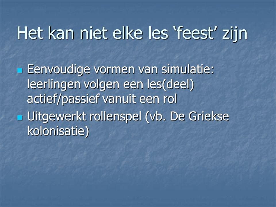 Simulatie Hulp bij vastzetten door identificatie (vb.