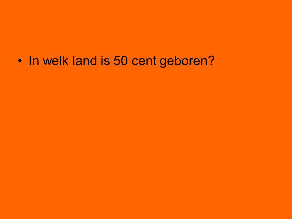In welk land is 50 cent geboren?
