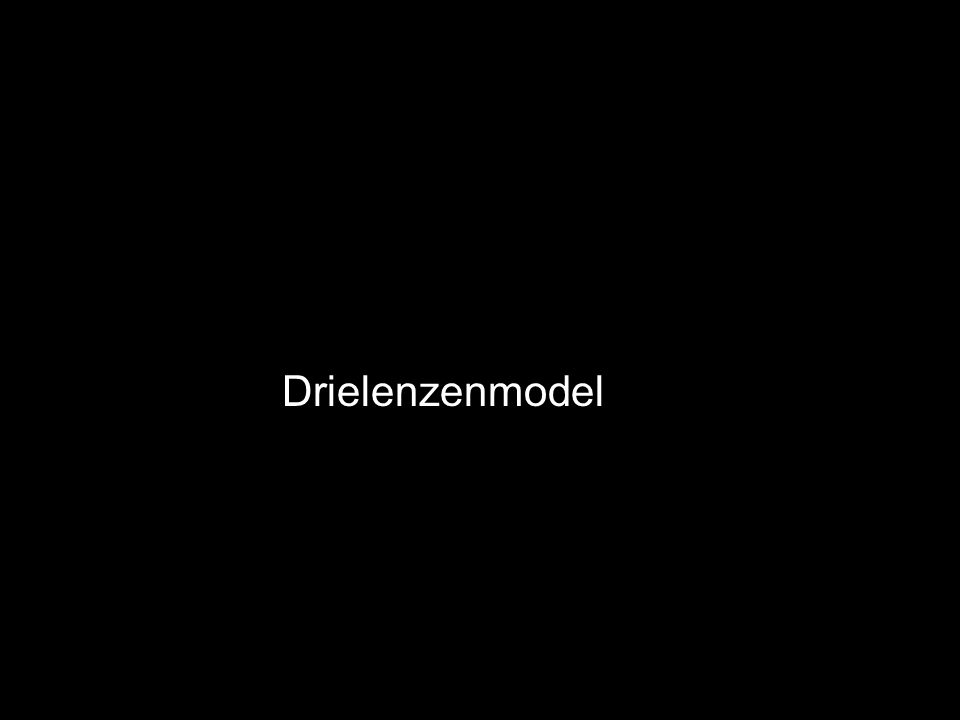 Drielenzenmodel