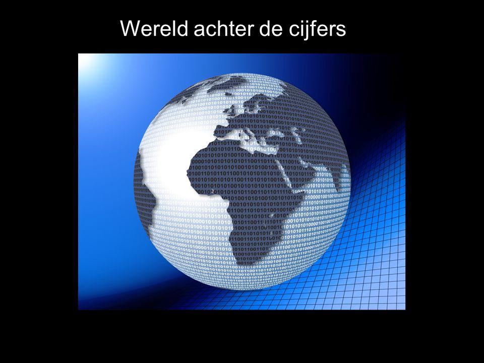 Wereld achter de cijfers