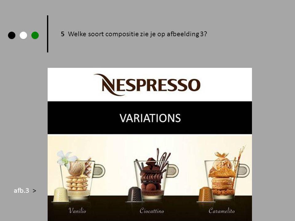 6 welke soort compositie is te zien op deze advertentie.