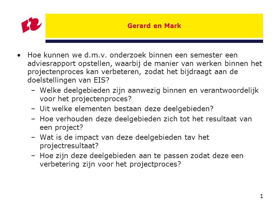 2 Kees en Nelleke Welke aanpassingen in de organisatie zullen er plaats moeten vinden om vanaf januari 2009 met DVO's te kunnen werken