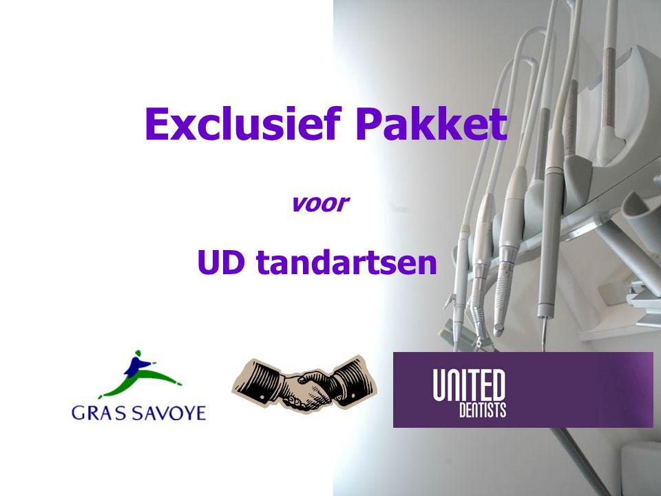 Exclusief Pakket voor UD tandartsen