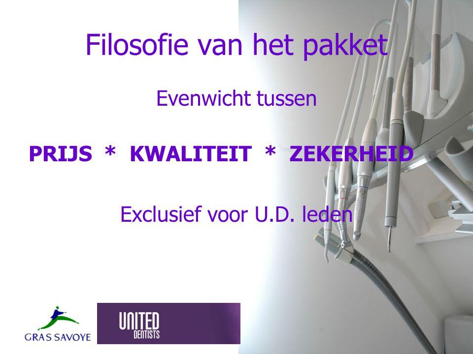Prijs door middel van –Grote hoeveelheden –Efficiënte werking – taakverdeling makelaar - UD