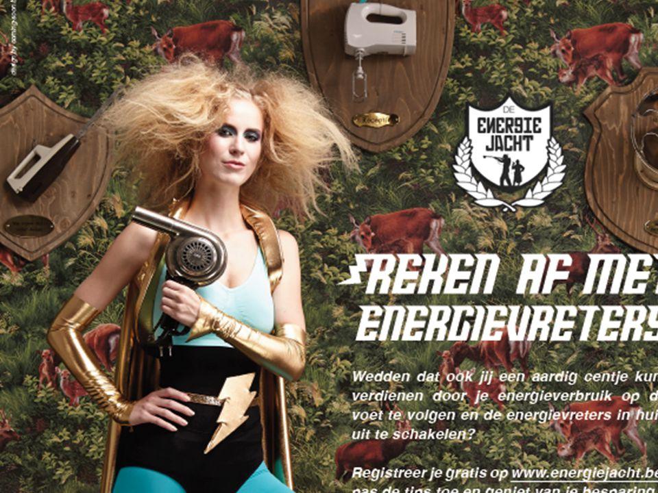 Focus op kansengroepen groepsmethodiek energiemeester = vertrouwenspersoon aangepaste opleiding aangepast campagnemateriaal beloning voor deelnemers = Energiejacht op maat