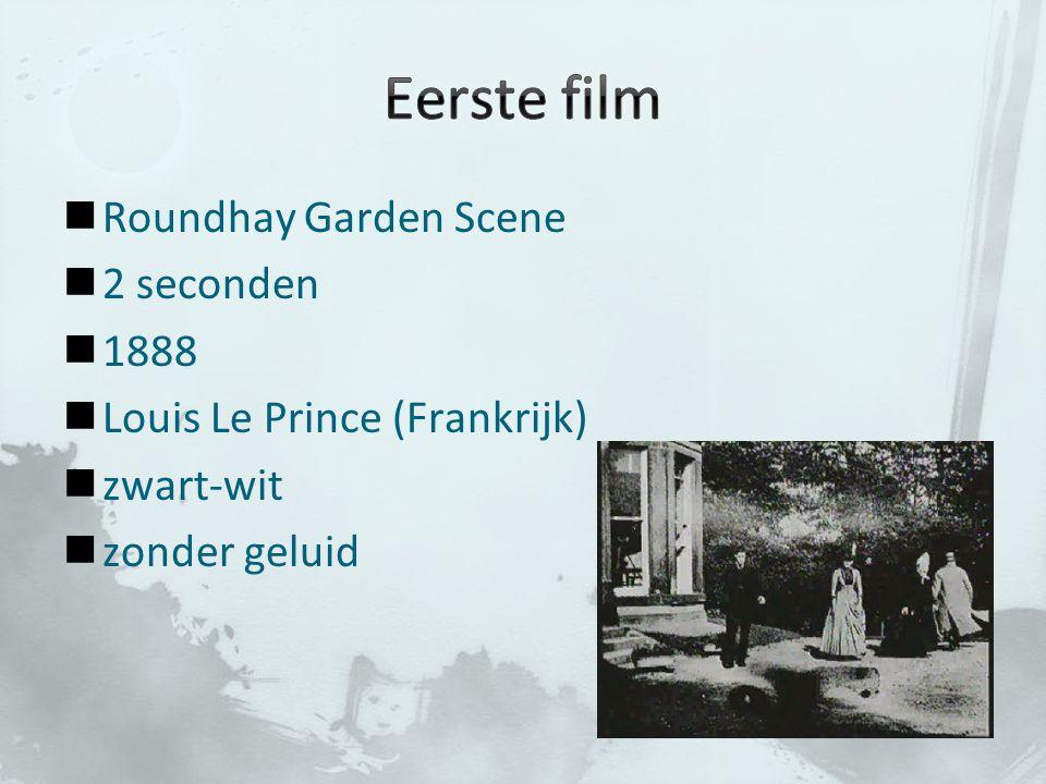 Roundhay Garden Scene 2 seconden 1888 Louis Le Prince (Frankrijk) zwart-wit zonder geluid