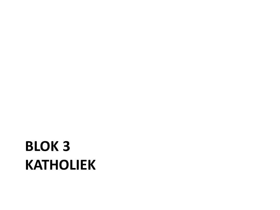 BLOK 3 KATHOLIEK