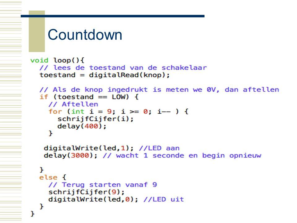 Arduino21 Countdown