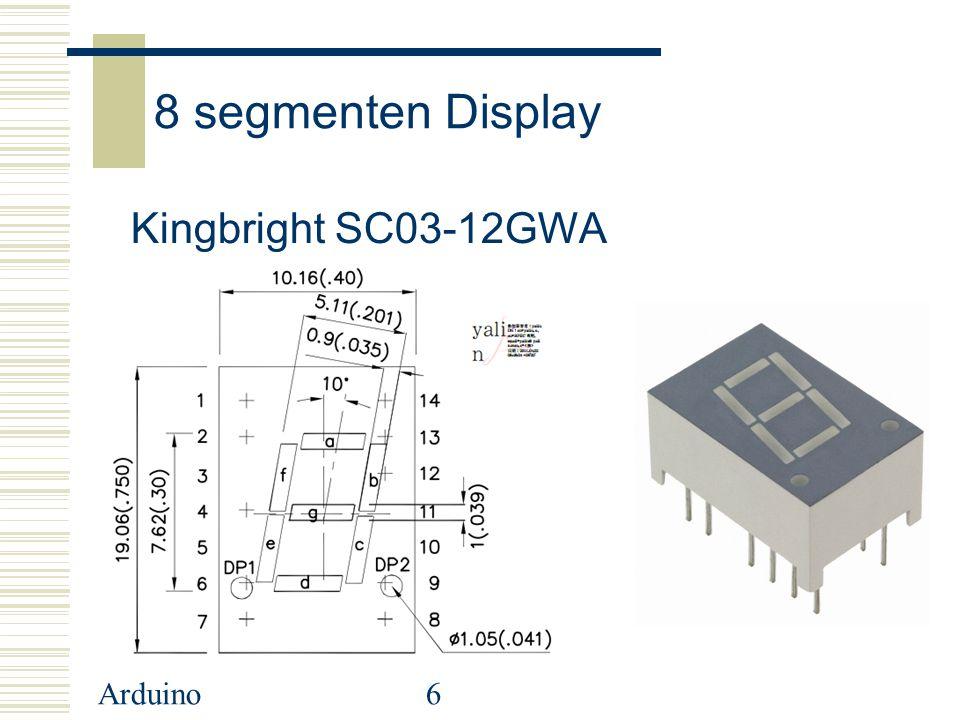 Arduino17 Gebruik van de Array
