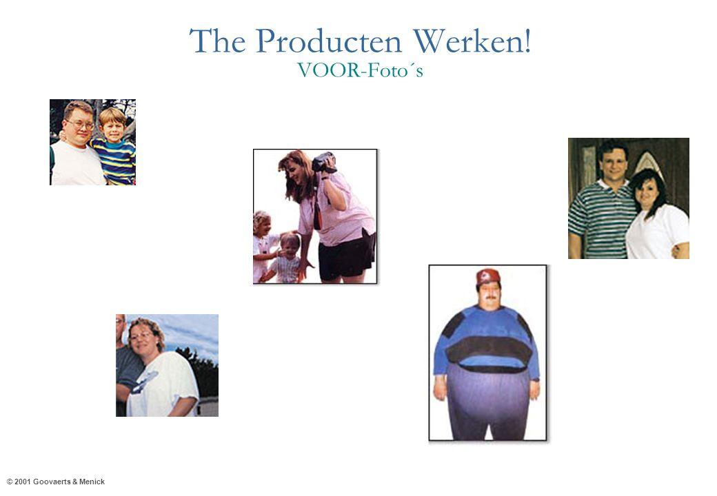 © 2001 Goovaerts & Menick The Producten Werken! VOOR-Foto´s