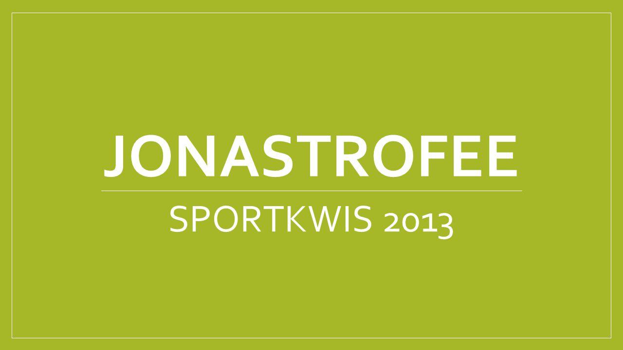 JONASTROFEE SPORTKWIS 2013