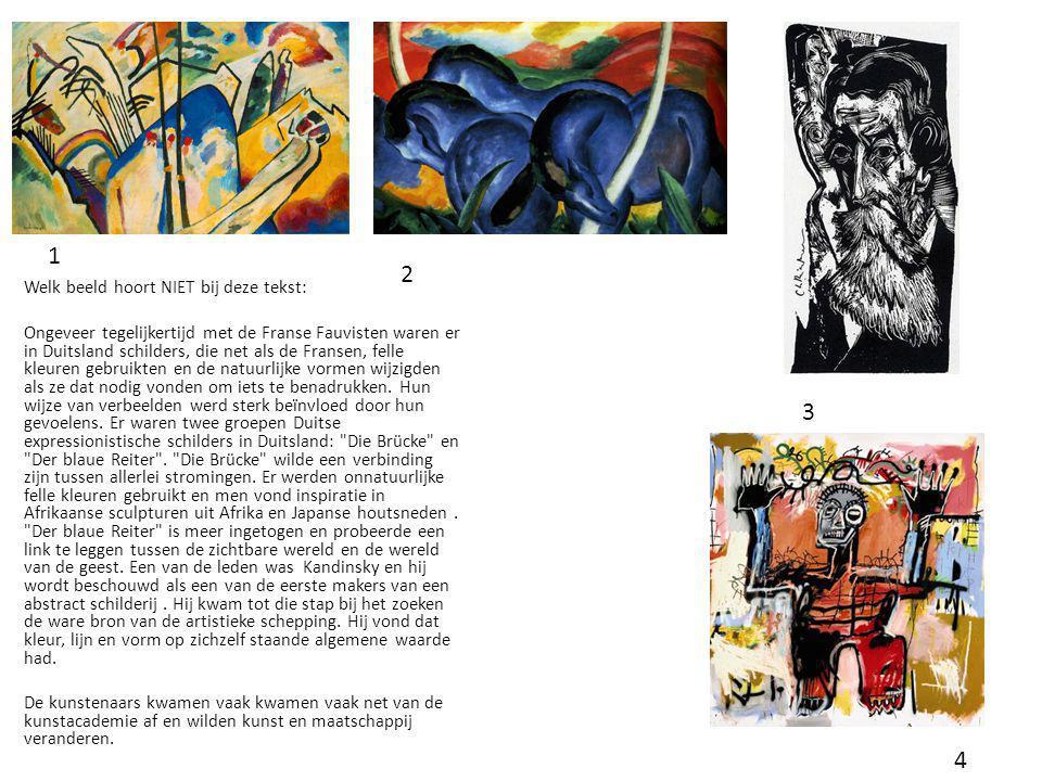 Abstract expressionisme Welk schilderij is van Pollock, welk van De Kooning en welk van Appel, Waarom.