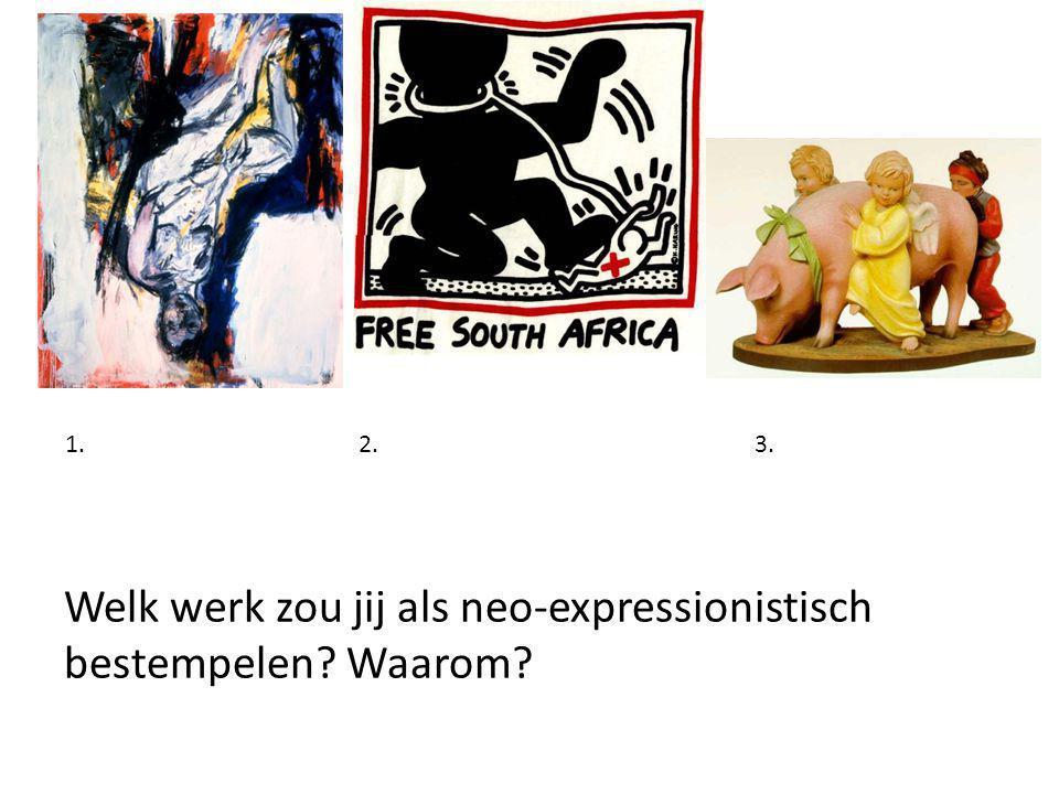 Welke verschillen en overeenkomsten zijn er tussen het expressionisme aan het begin van de 20e eeuw en het latere abstract expressionisme.