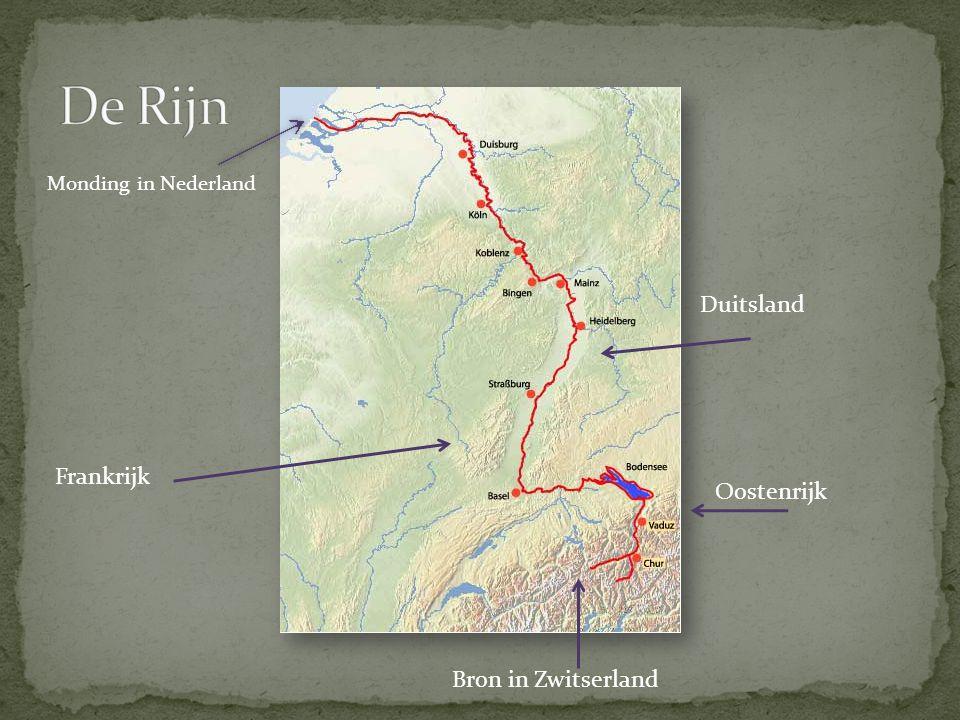 Bij Duisburg ligt het Ruhrgebied.Dit is het belangrijkste industriegebied van Duitsland.