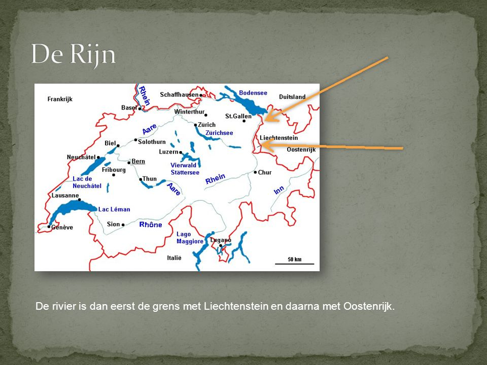 Ooit was de Rijn de noordgrens van het Romeinse Rijk. Dit is een kopie van een Romeinse kaart.