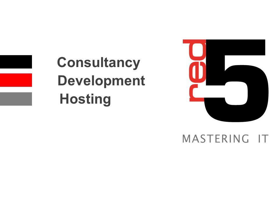 Consultancy Development Hosting