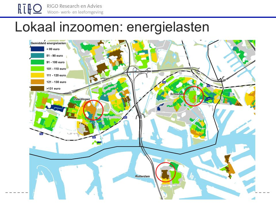 Lokaal inzoomen: energielasten