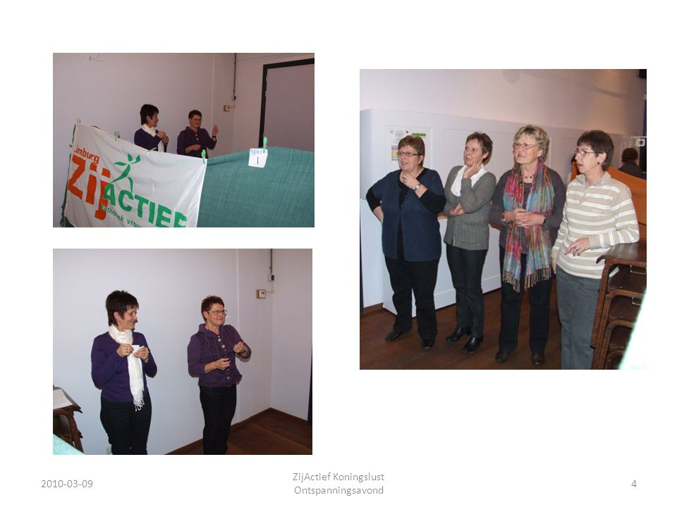 2010-03-0935 ZijActief Koningslust Ontspanningsavond Na het spel kreeg de groep uitleg over het jaarprogramma.