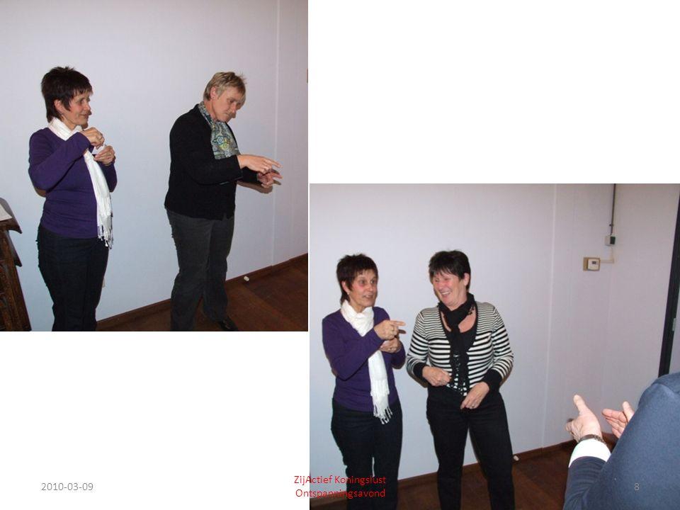 2010-03-0919 ZijActief Koningslust Ontspanningsavond