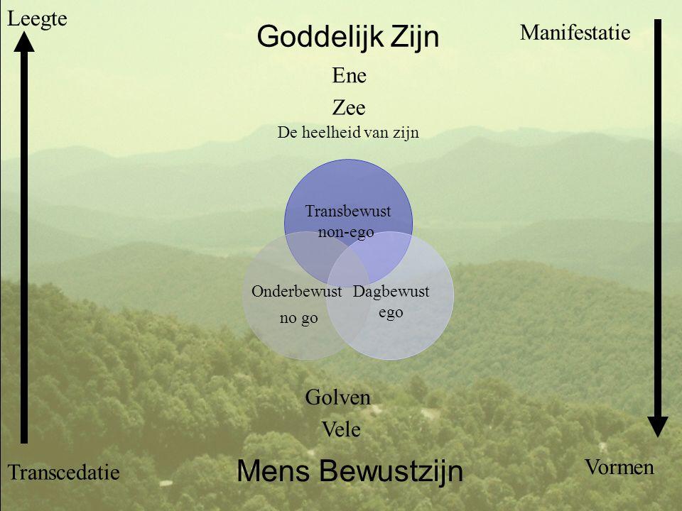 Het universum als spiegel van de Ziel Transbewuste Onbewuste EGO Het universum = jouw ziel