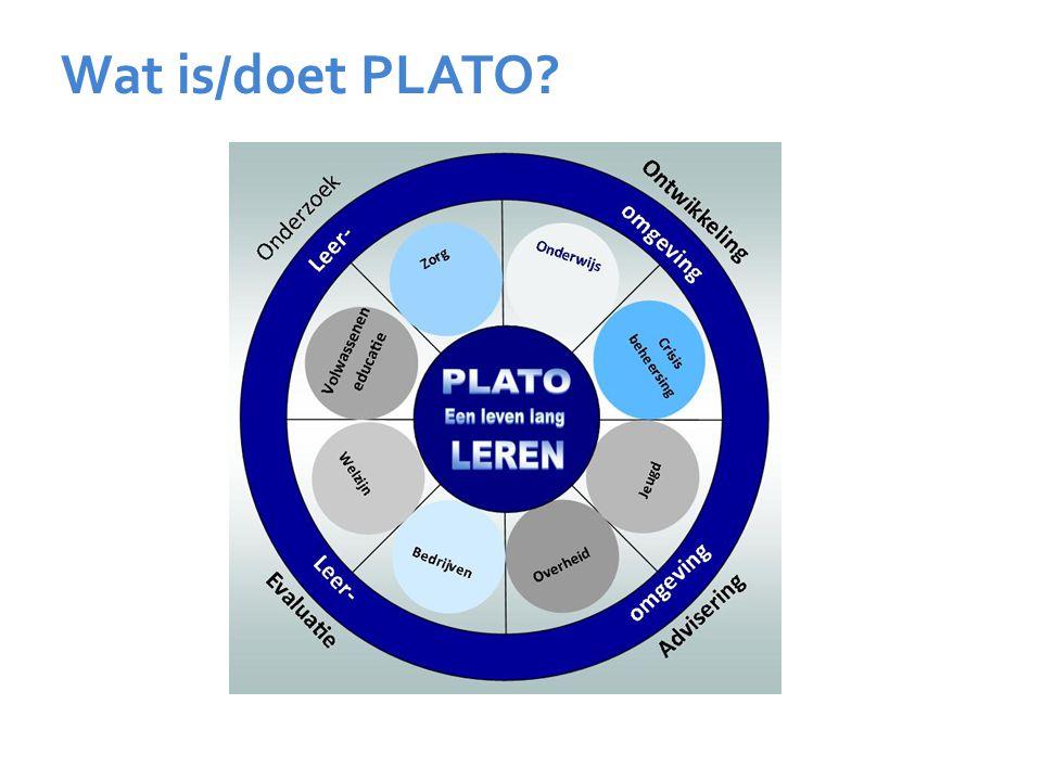 Wat is/doet PLATO?