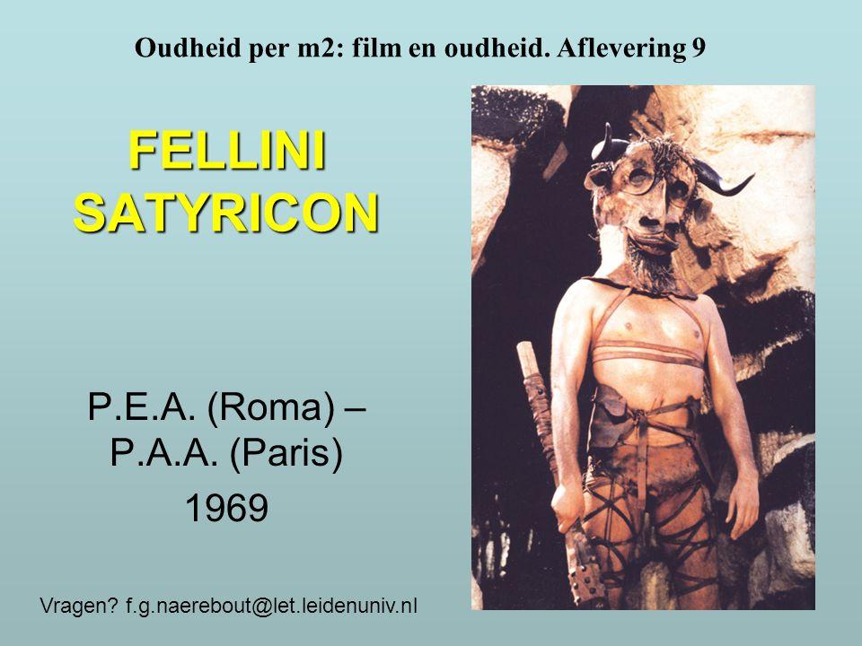 Federico Fellini (1920-1993)