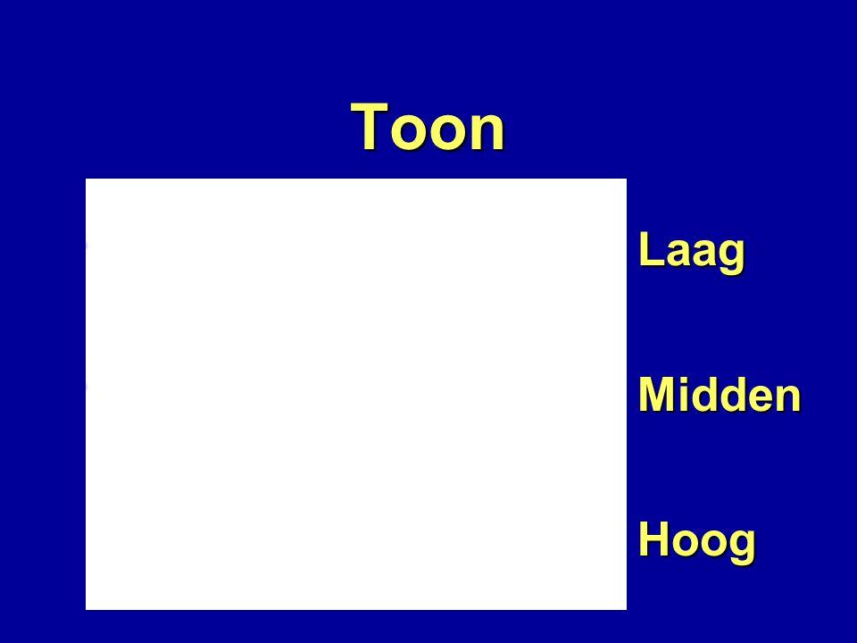 Toon LaagMiddenHoog