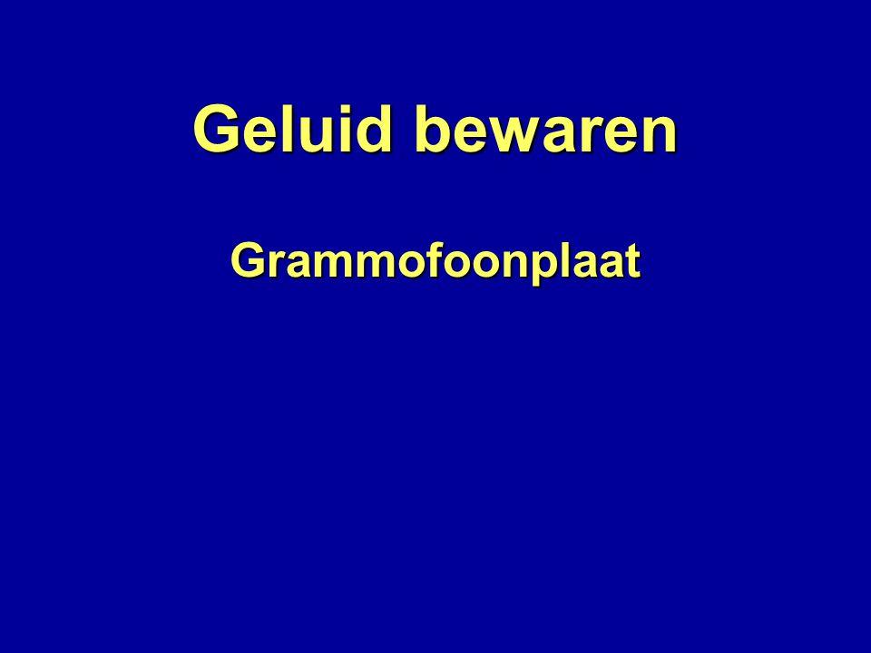 GrammofoonplaatSpiraalgroef