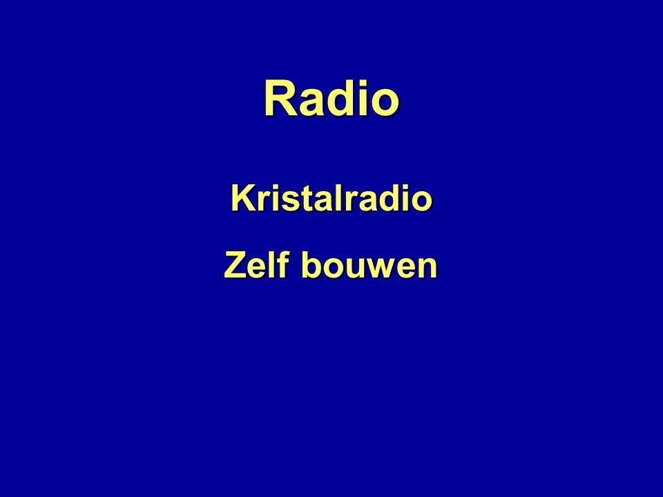 Radio Kristalradio Zelf bouwen