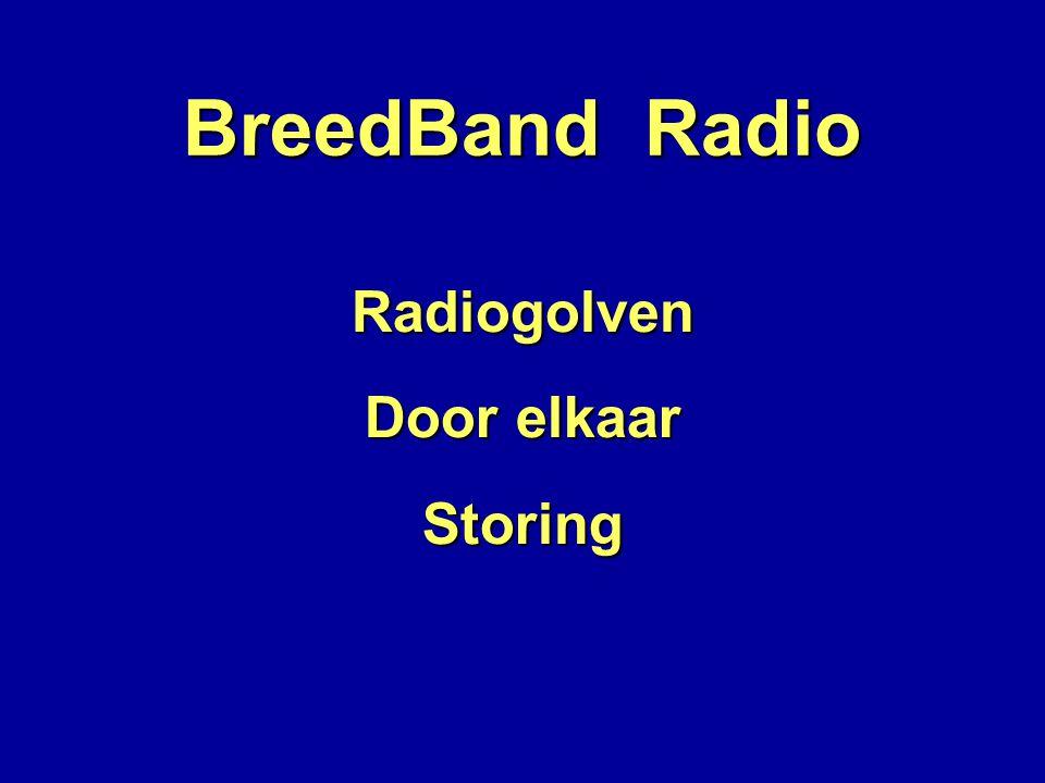 BreedBand Radio Radiogolven Door elkaar StoringTL-buizen