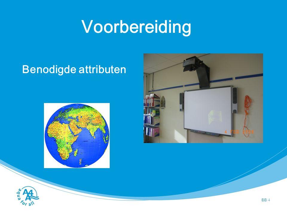 Voorbereiding BB 5 Aanwezigheid onderwijzer