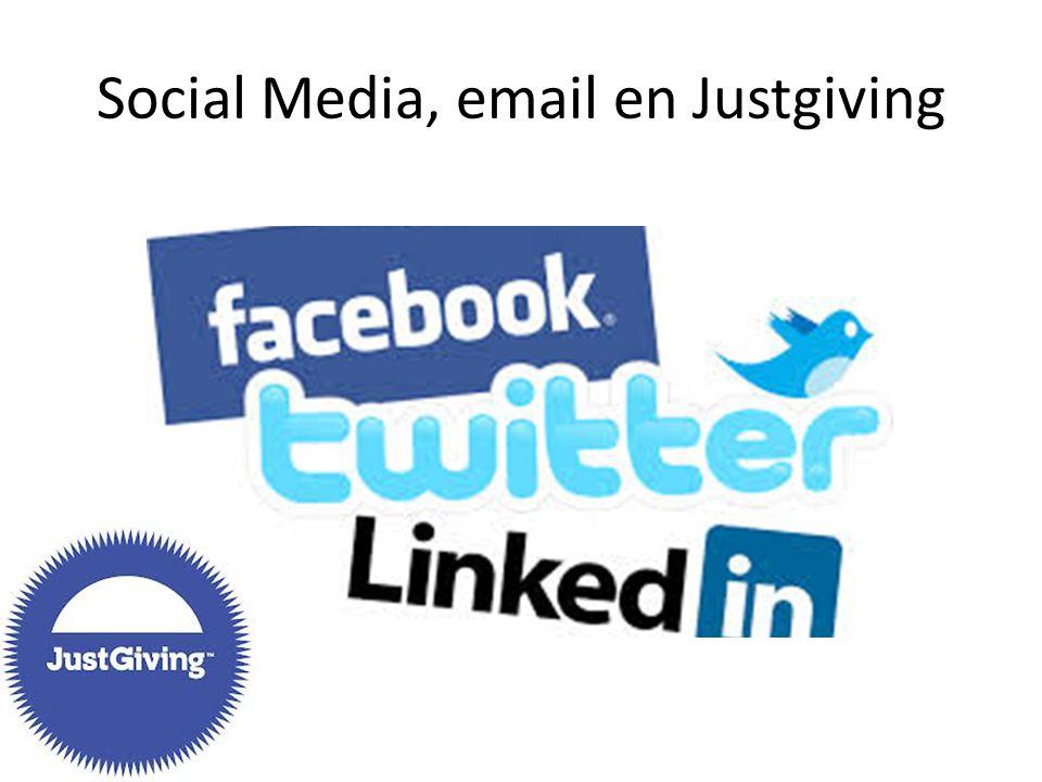 Extra hulpmiddelen Inspiratie actiepagina Facebookpagina omslag Voorbeeldmail + bedankmail (zie toolkit)