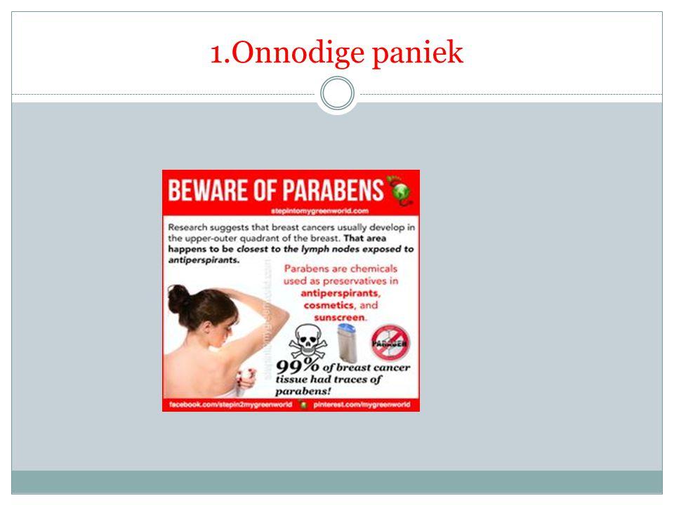 1.Onnodige paniek