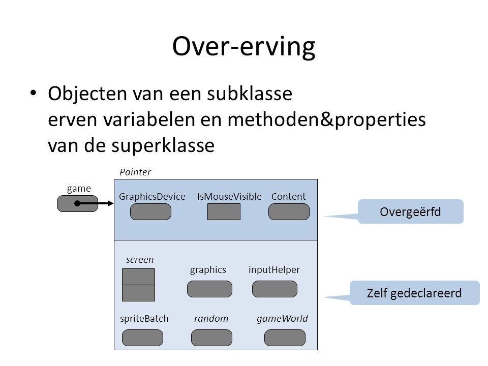 Een object uitbreiden Hoe kunnen we een object uitbreiden.