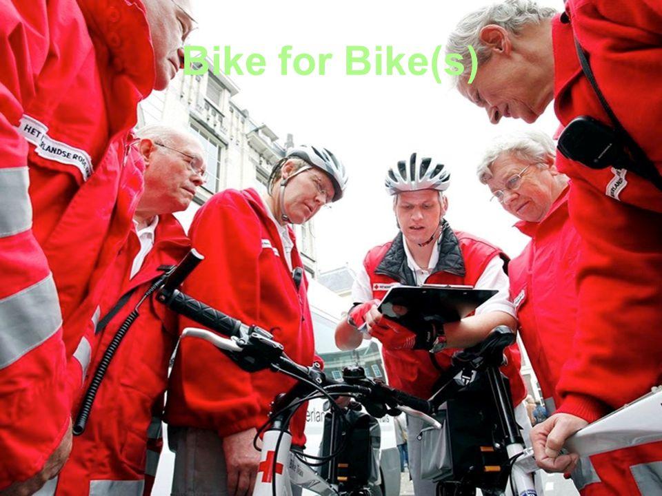 Besteding sponsorgeld Met het bijeengebrachte geld werken we aan sterkere en professionelere bike-teams in heel Nederland.
