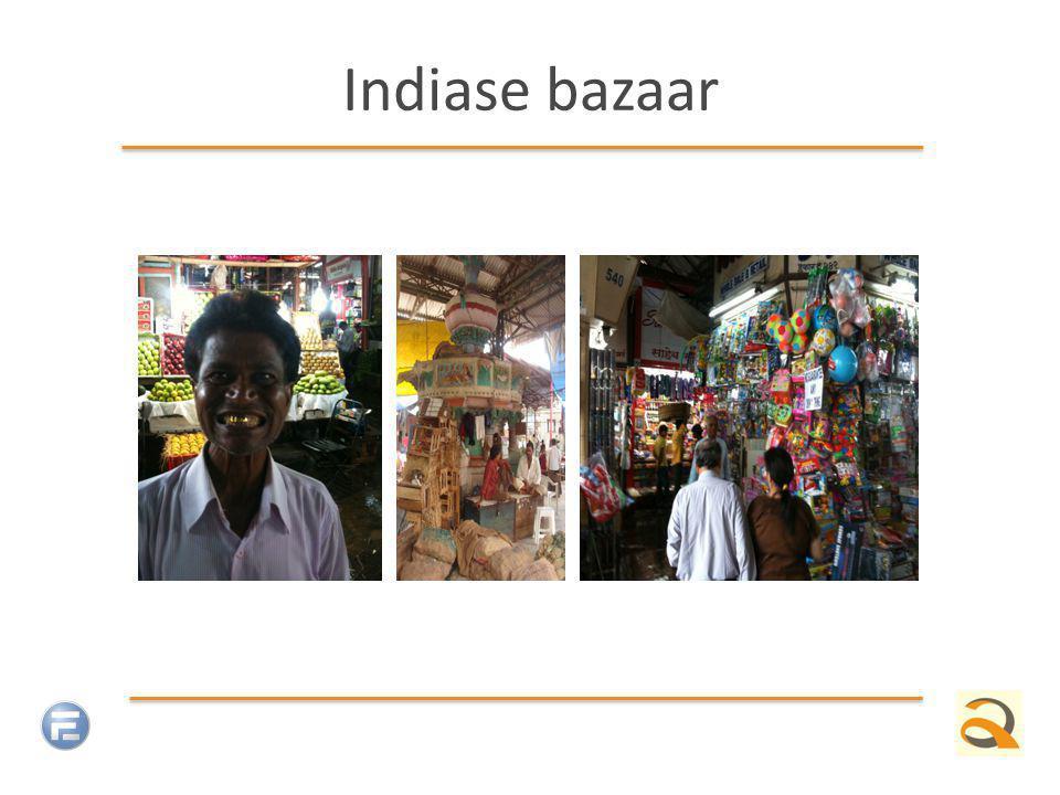 Indiase bazaar