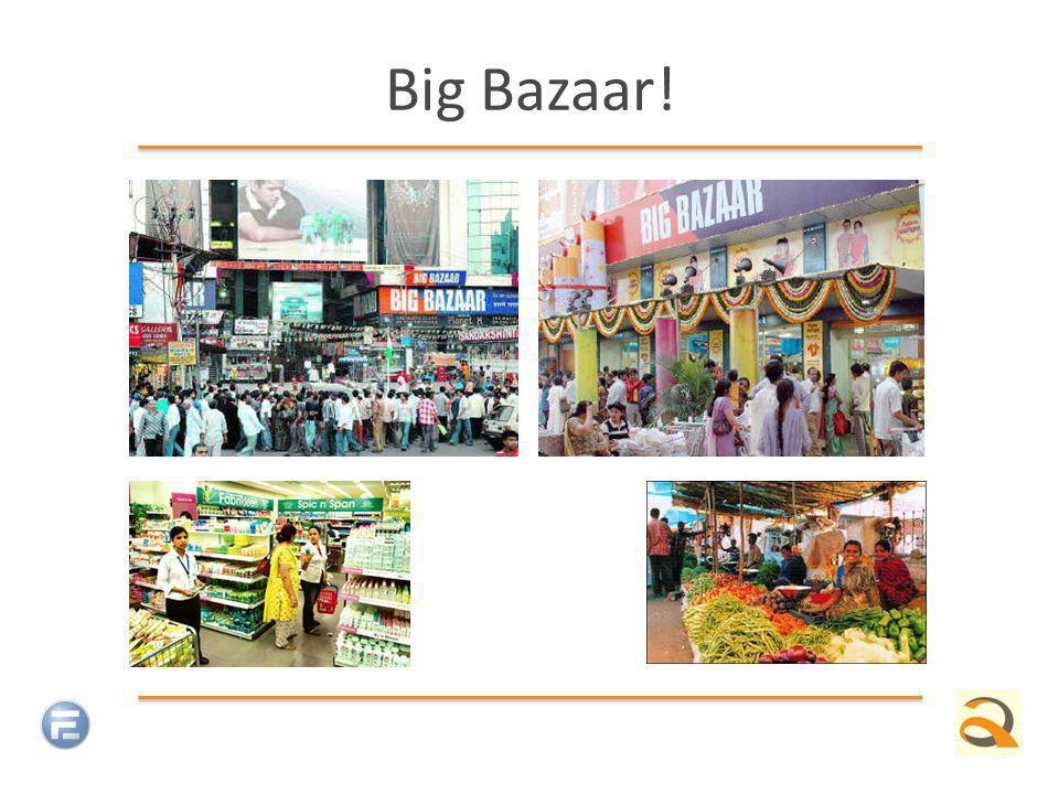 Big Bazaar!