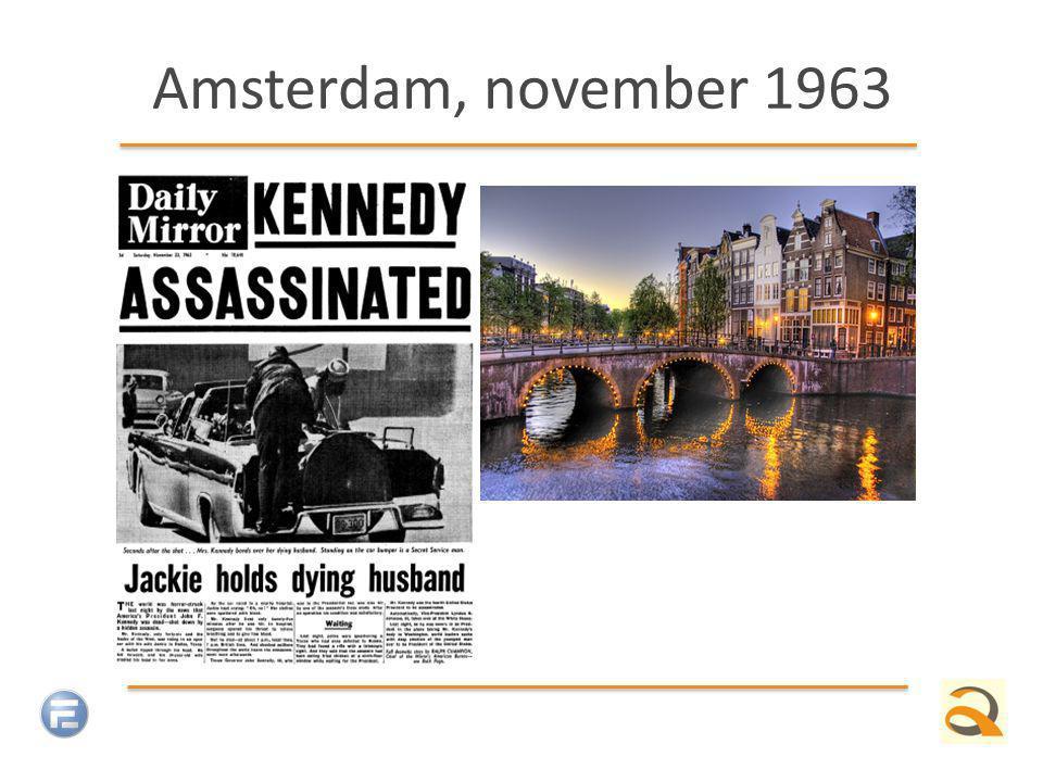 Amsterdam, november 1963