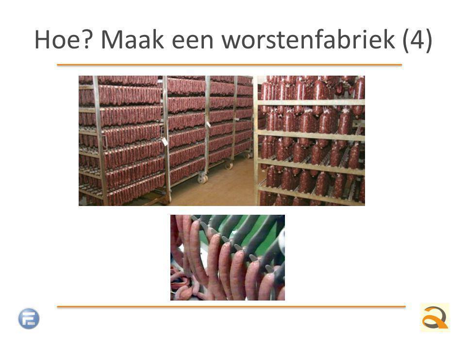 Hoe Maak een worstenfabriek (4)