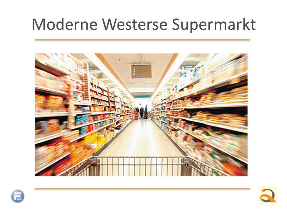 Moderne Westerse Supermarkt